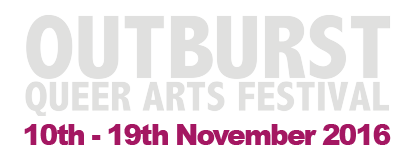 Outburst Queer Arts Festival 2016